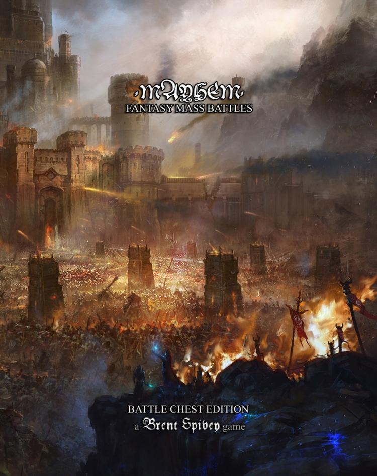 MAYHEM_BrentSpivey_cover_fantasymassbattle_battlechestedition